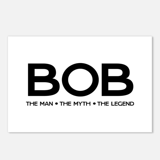 BOB The Man The Myth The Legend Postcards (Package