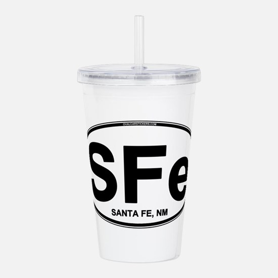 sfe-oval.png Acrylic Double-wall Tumbler
