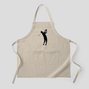 Golfer Silhouette Apron