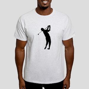 Golfer Silhouette T-Shirt
