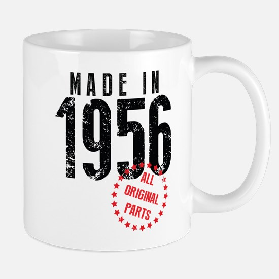 Made In 1956, All Original Parts Mugs