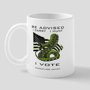 Be Advised Mug Mugs
