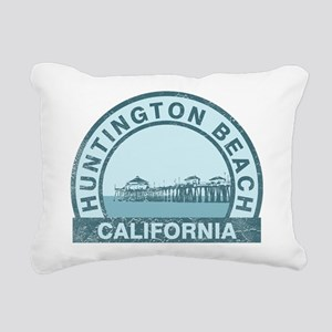 Huntington Beach, CA Rectangular Canvas Pillow