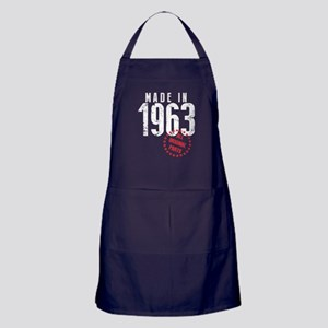 Made In 1963, All Original Parts Apron (dark)