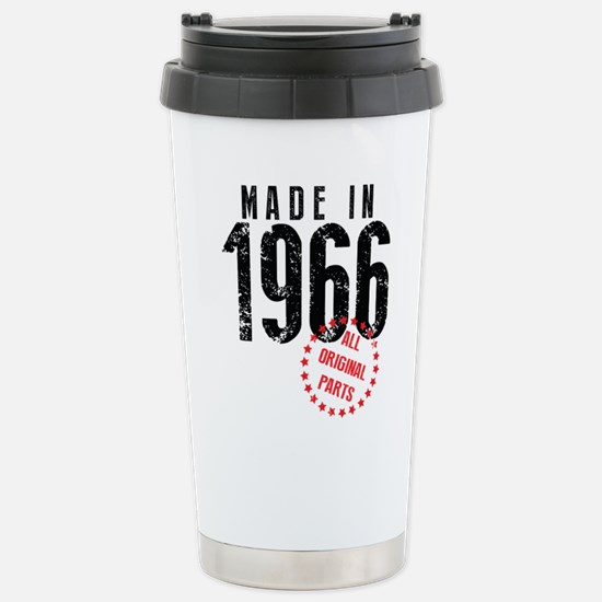Made In 1966, All Original Parts Travel Mug