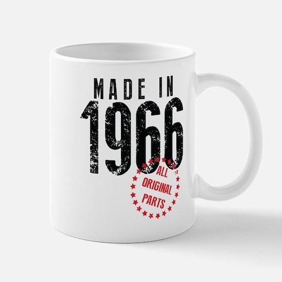 Made In 1966, All Original Parts Mugs