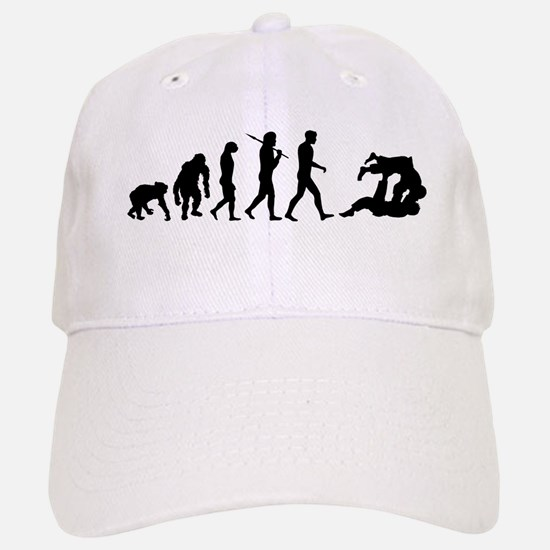 Evolution of Judo Baseball Baseball Cap