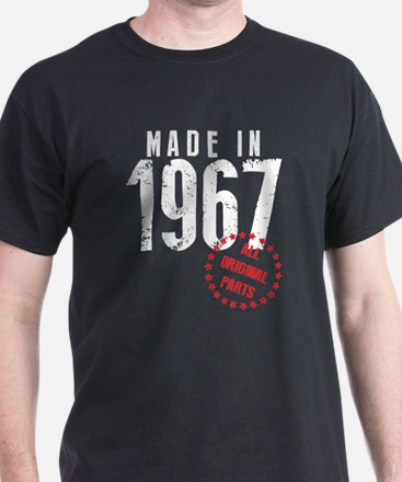 Made In 1967, All Original Parts T-Shirt