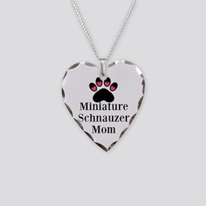 Miniature Schnauzer Mom Necklace
