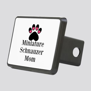 Miniature Schnauzer Mom Hitch Cover
