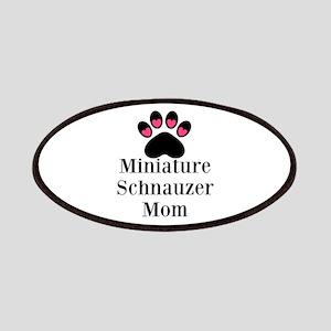 Miniature Schnauzer Mom Patches