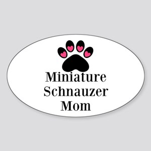 Miniature Schnauzer Mom Sticker