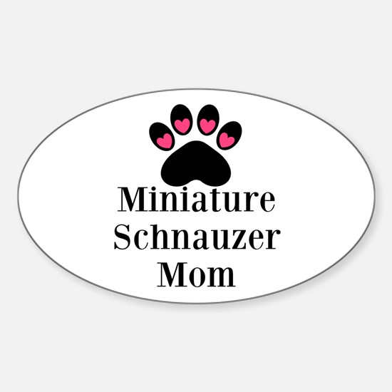 Miniature Schnauzer Mom Decal