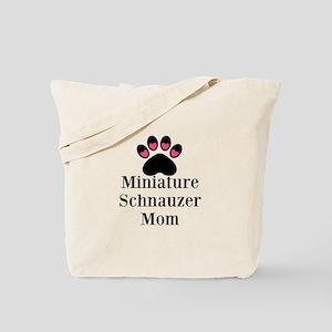Miniature Schnauzer Mom Tote Bag