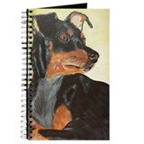 Miniature pinscher Journals & Spiral Notebooks
