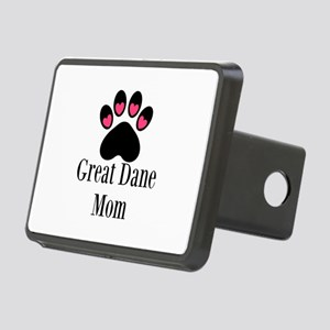 Great Dane Mom Paw Print Hitch Cover