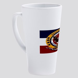 US Veteran Bosnia 17 oz Latte Mug