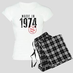 Made In 1974, All Original Parts Pajamas