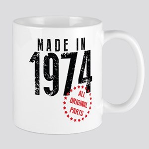 Made In 1974, All Original Parts Mugs