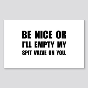 Empty My Spit Valve Sticker