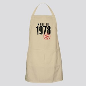 Made In 1978, All Original Parts Apron