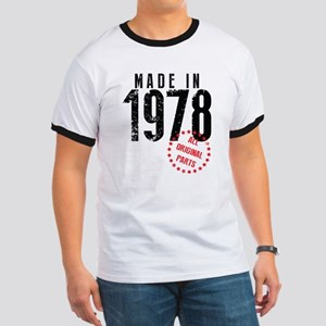Made In 1978, All Original Parts T-Shirt
