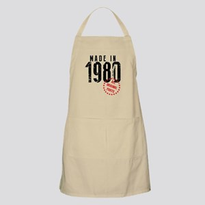 Made In 1980, All Original Parts Apron