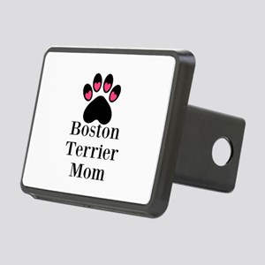Boston Terrier Mom Hitch Cover