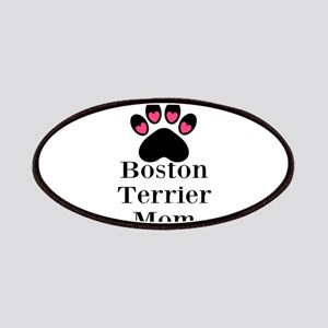 Boston Terrier Mom Patches