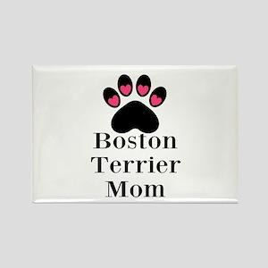 Boston Terrier Mom Magnets