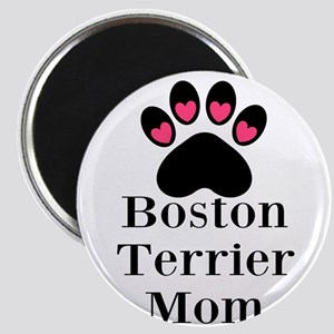 Boston Terrier Mom Magnets