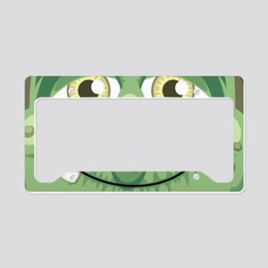 Witch Face License Plate Holder