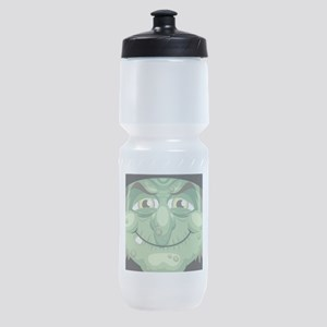 Witch Face Sports Bottle
