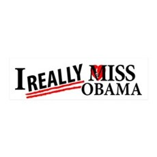 I Really Miss Obama Wall Decal