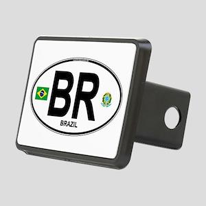 Brazil Intl Oval Rectangular Hitch Cover