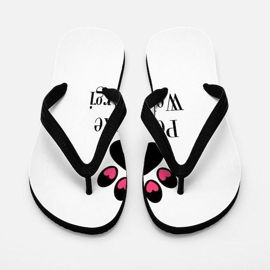 Pembroke Welsh Corgi Mom Flip Flops