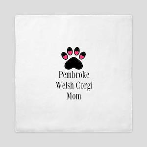 Pembroke Welsh Corgi Mom Queen Duvet