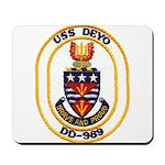 USS DEYO Mousepad