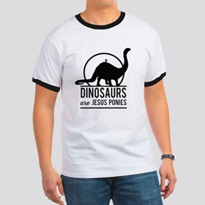 Dinosaurs Are Jesus Ponies T-Shirt