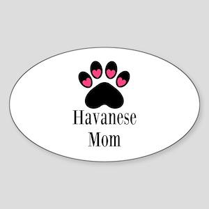 Havanese Mom Sticker