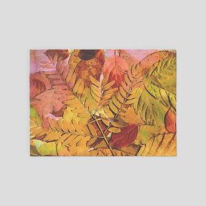 Autumn Leaves 5'x7'Area Rug