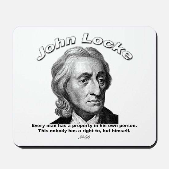 John Locke 02 Mousepad