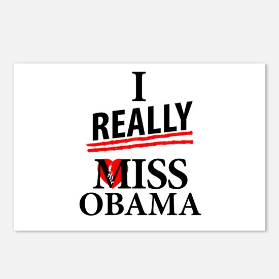 I Really Miss Obama Postcards (Package of 8)