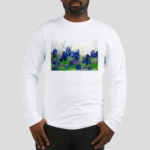 Bluebonnet Painting Long Sleeve T-Shirt