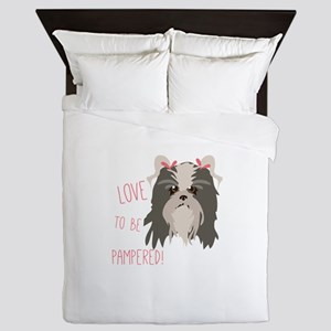 Pampered Pet Queen Duvet