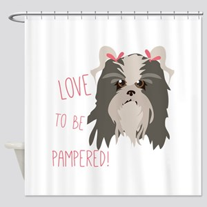 Pampered Pet Shower Curtain