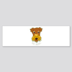 Agile Airedale Bumper Sticker