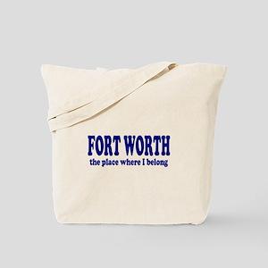Fort Worth Tote Bag