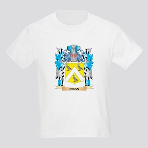 Finan Coat of Arms - Family Crest T-Shirt