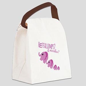 Heffalumps? Canvas Lunch Bag